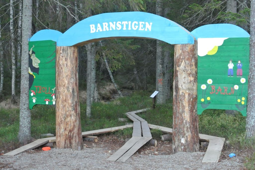 Bäcksjön nature area