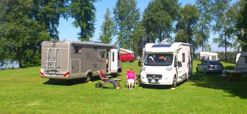 Camping ground Braås