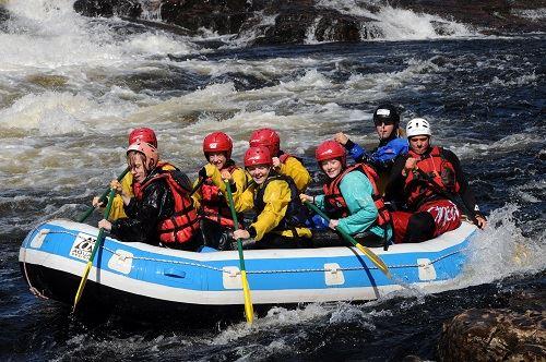 Nisse Schmidt, Rafting Glöta