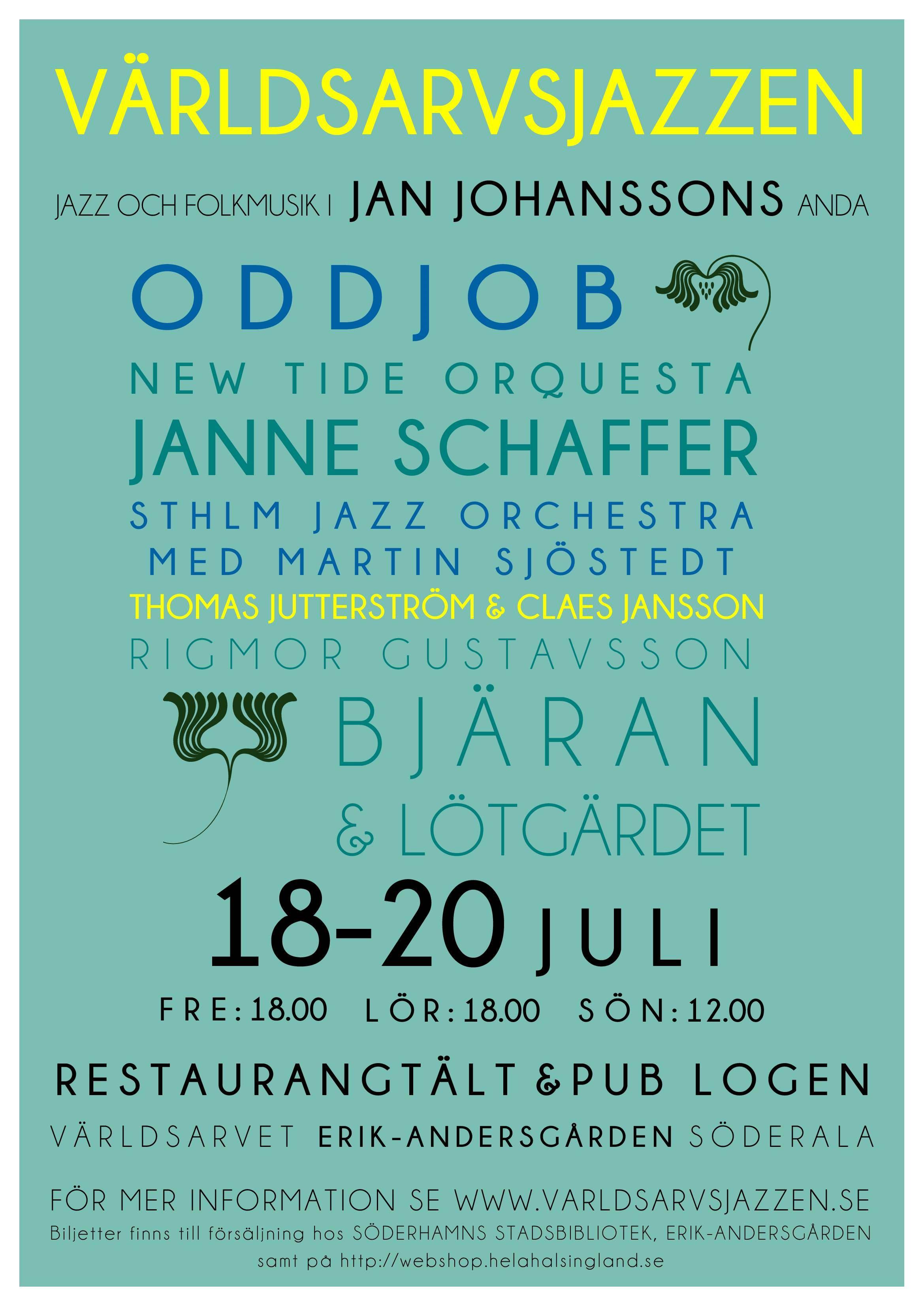 Världsarvsjazzen - jazz- och folkmusik i Jan Johanssons anda