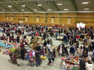 Flea market at Nolia