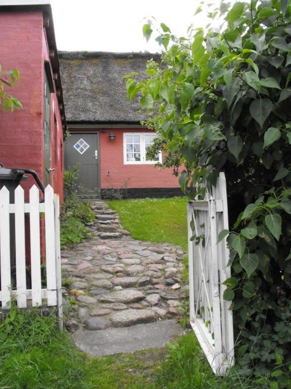 City Walk in Nordby by Strandskaden