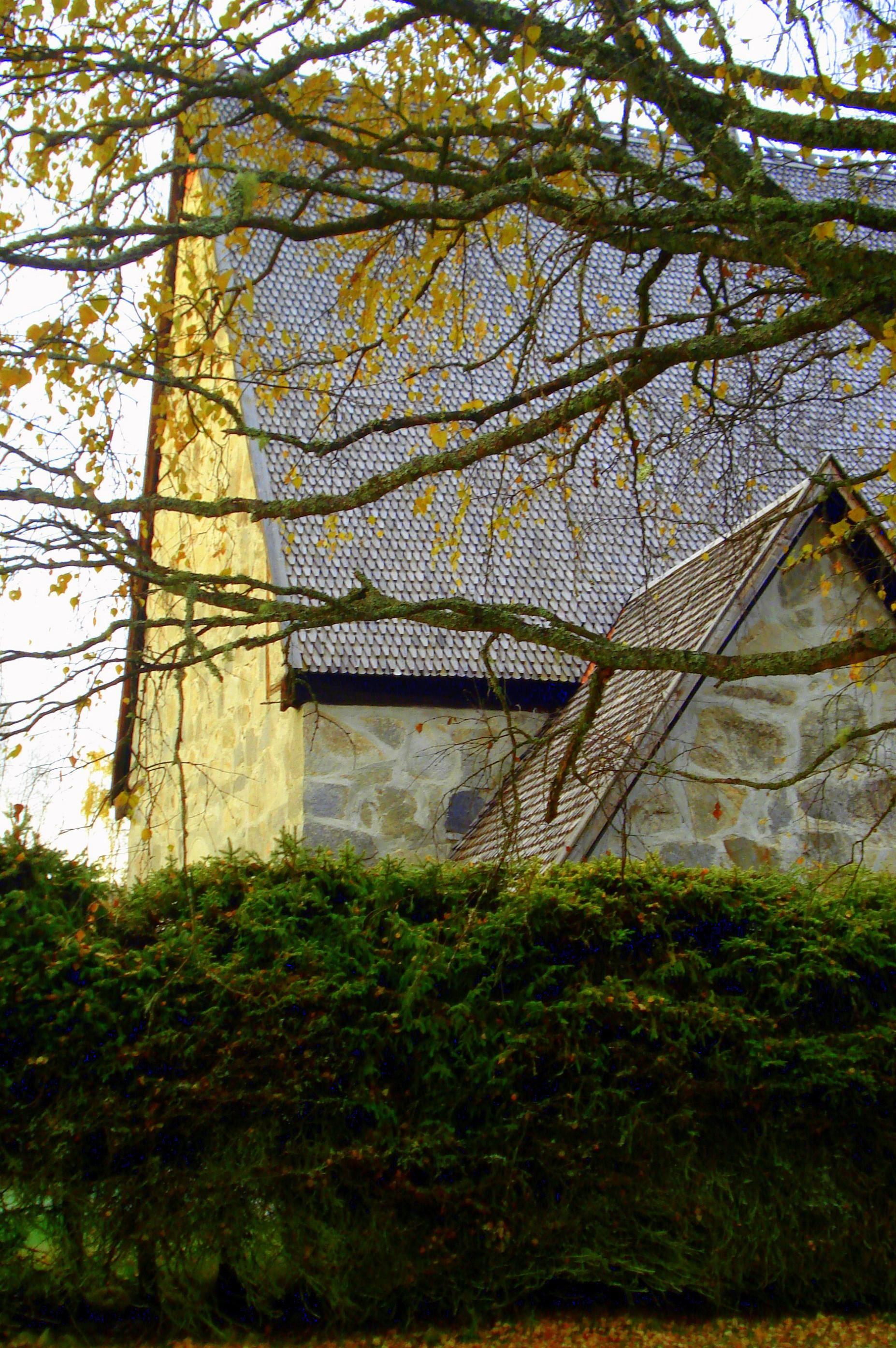 Jermunn Solem, Lidens gamla kyrka