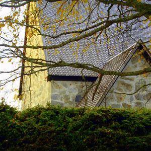 Jermunn Solem, The Old Church in Liden