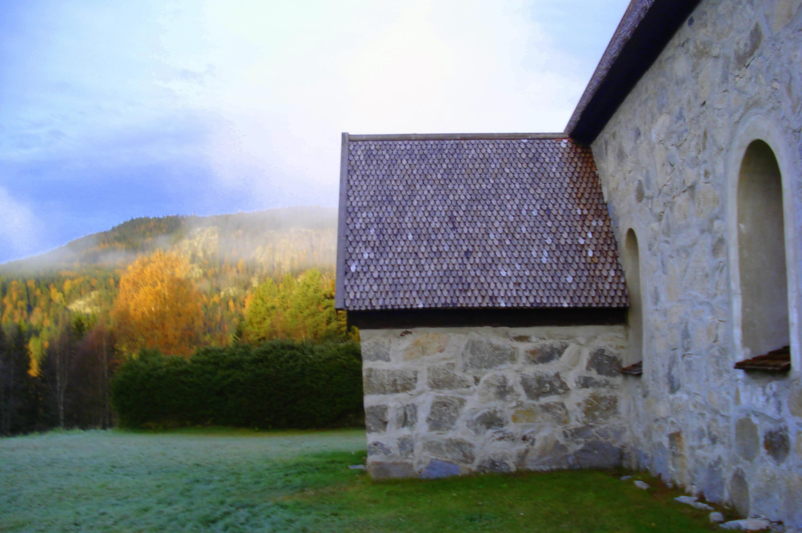 Jermunn Solem, Die alte Kirche von Liden