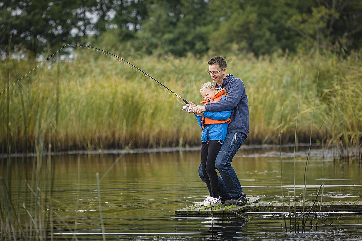 Fotograf: Sven Persson/swelo.se, Fishing in the lower reaches of the River Helgeå