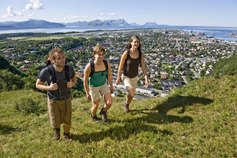 Mountain walks around Bodø