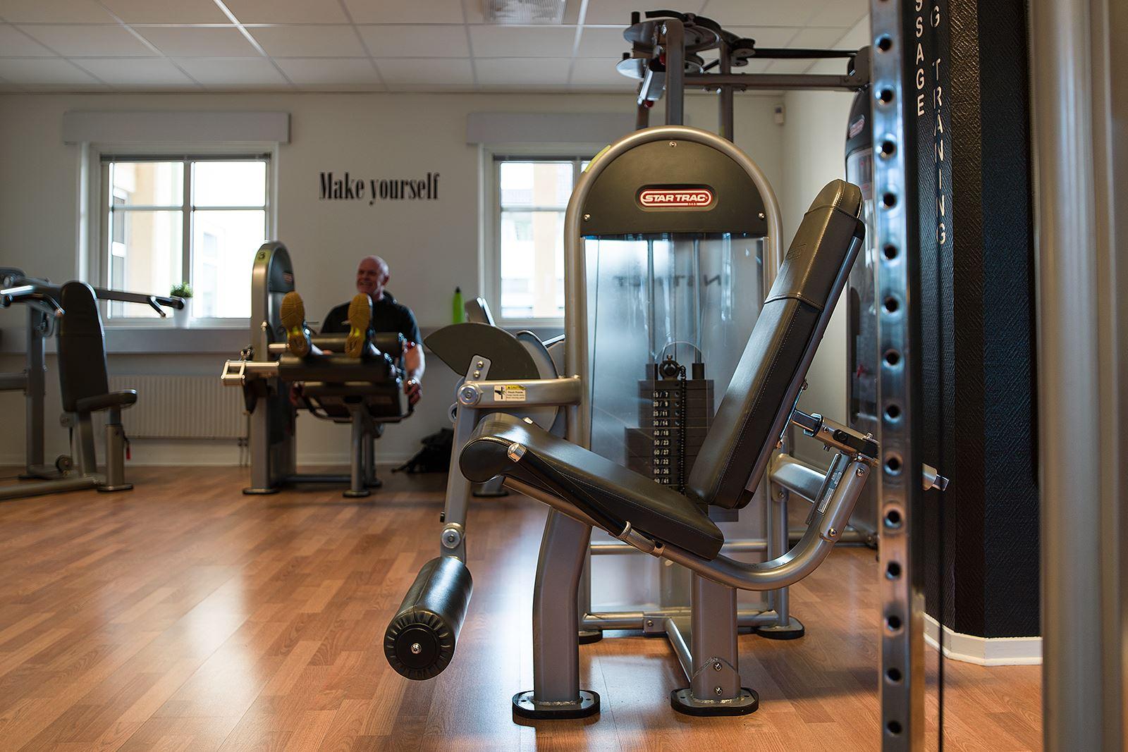 Anna Sköld, Gym+ - Träningsmaskiner