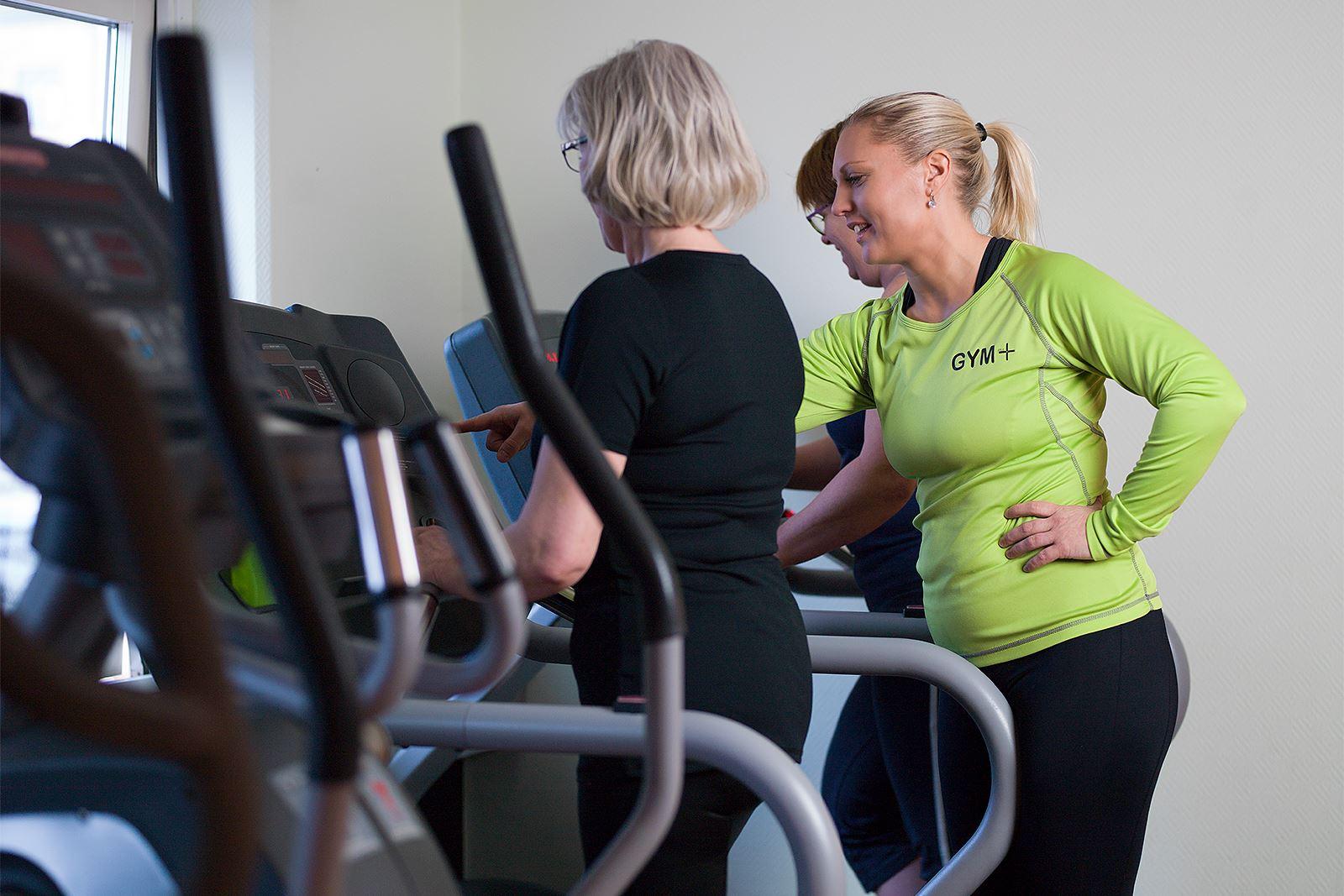Anna Sköld, Gym+ - Anna hjälper kunder