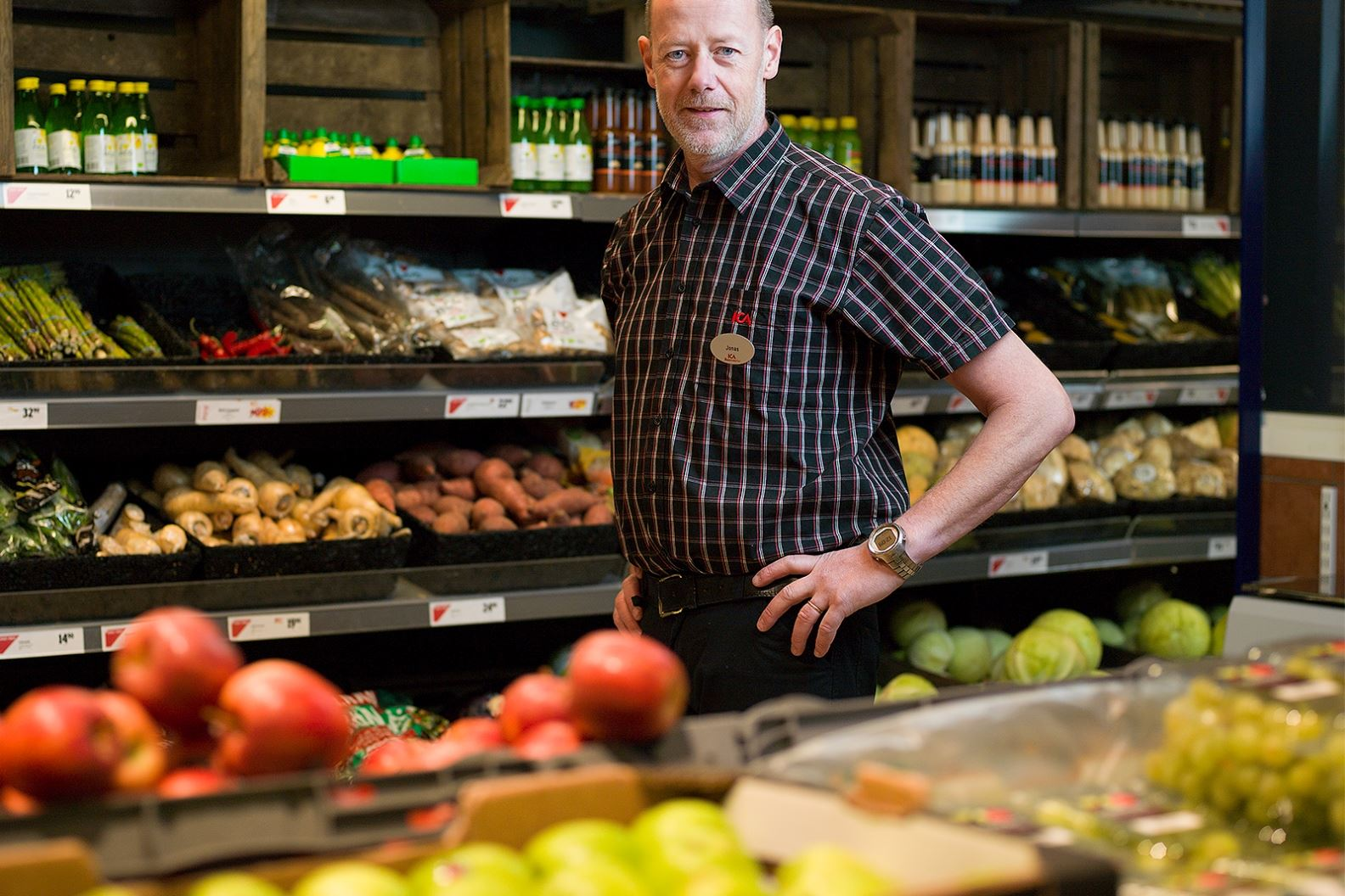 Anna Sköld, Ica Supermarket - Jonas Hugosson