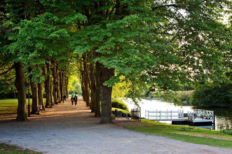 Kungsparken och Slottsparken