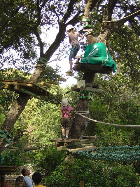 ACCRO : parc accrobranche Les Rochers de Maguelone
