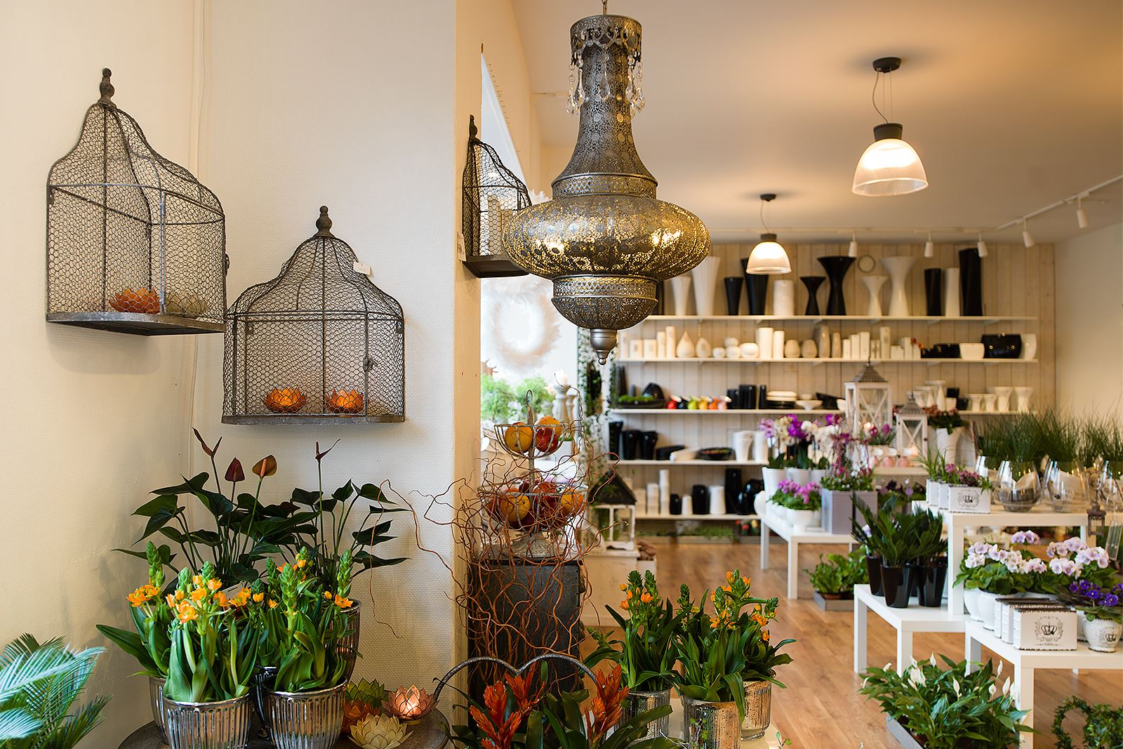 Anna Sköld, Skillingaryds Blomsterhandel - Atmosfär