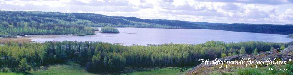 Utsikt över Säbysjön.