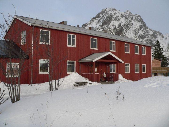 Das Künstlerhaus in Lofoten