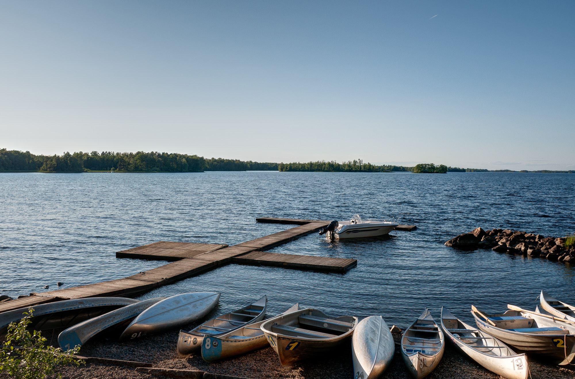 Sjöstugans Camping - Kanotuthyrning Helge å