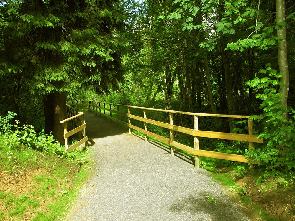 The Berga trail in Lagan