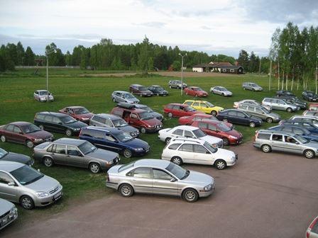 Drive-in-Bingo i Färnäs Bygdegård