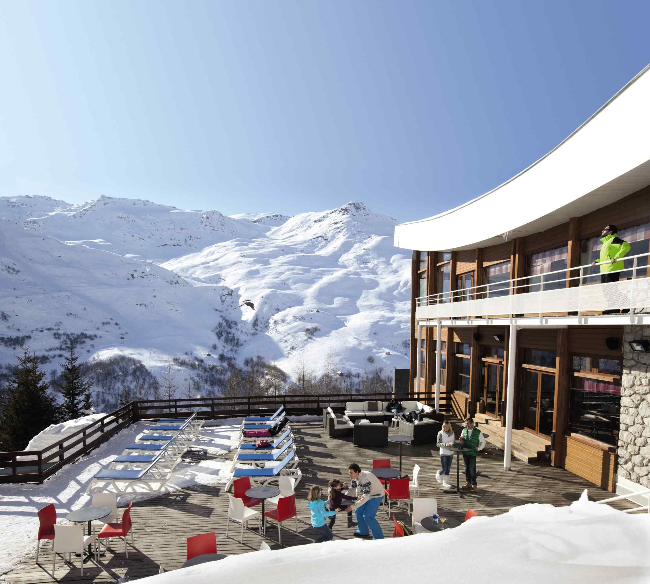 Holiday Club ski-in ski-out / CLUB BELAMBRA NEIGE ET CIEL