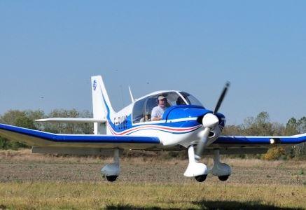 LES AILES TOURANGELLES - BY AIR WITH AN AIRCRAFT DR400