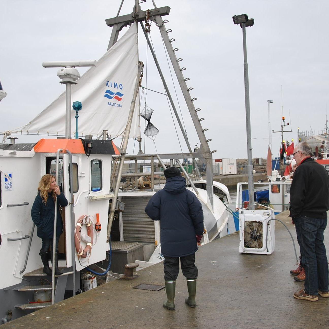 Fiskeri med lokale fiskere