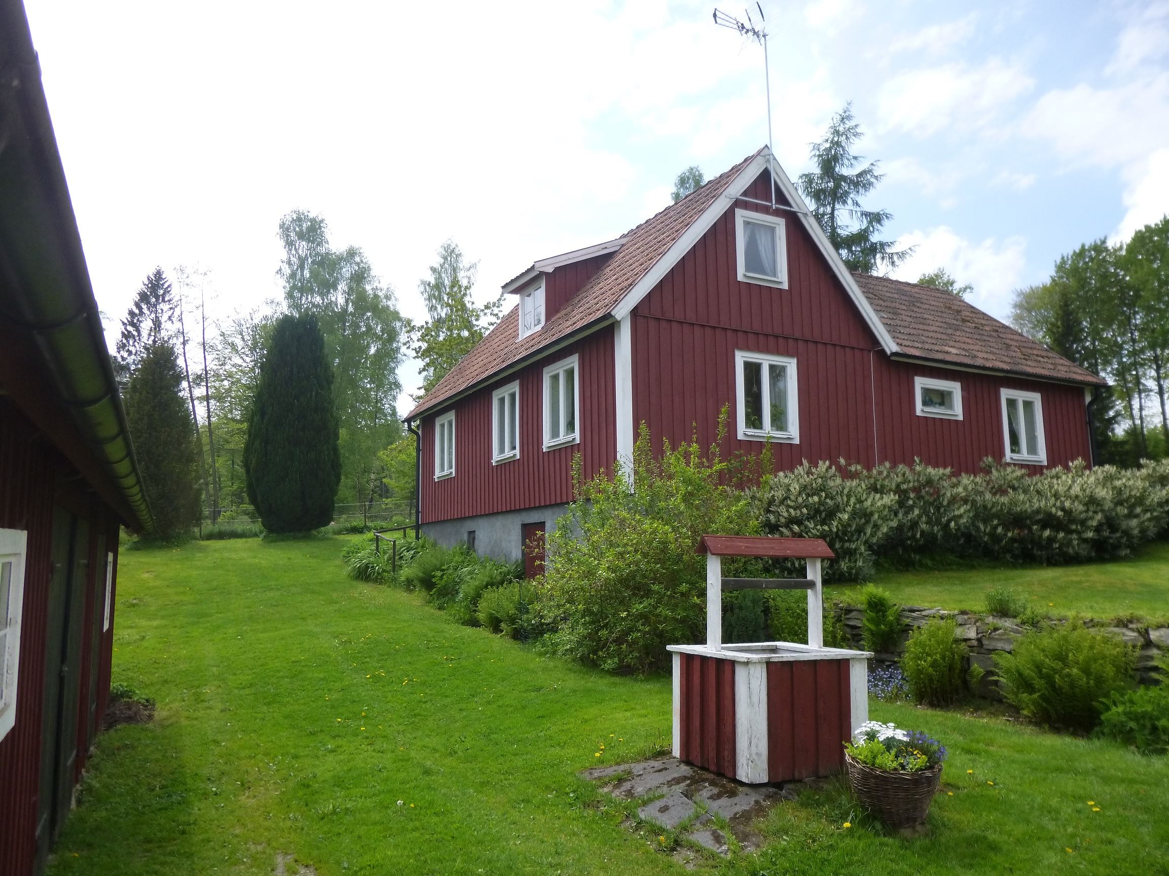 Cottage in Västanå grounds