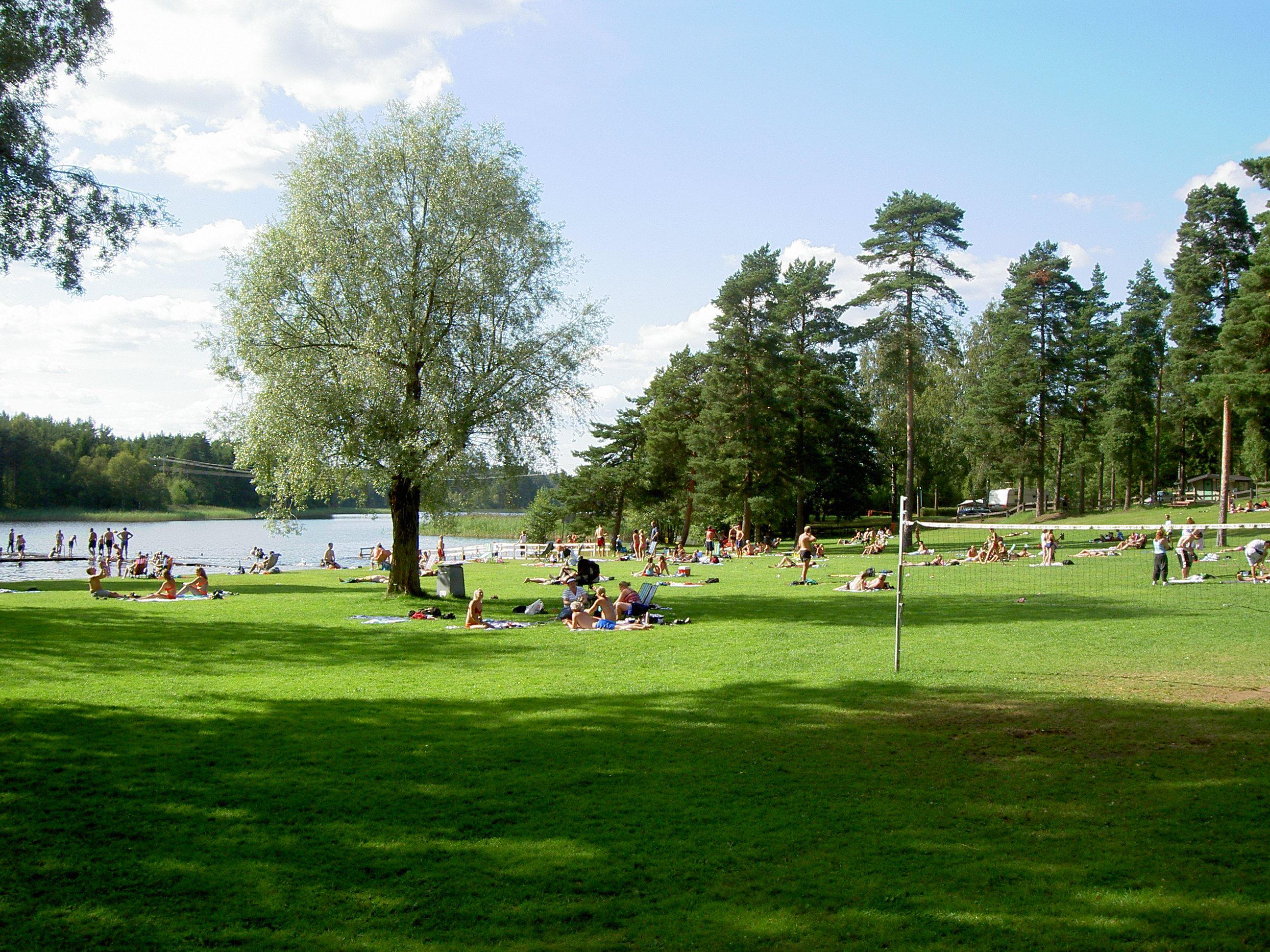 Vaggeryds kommun, Swim in Hjortsjön, Vaggeryd's municipality