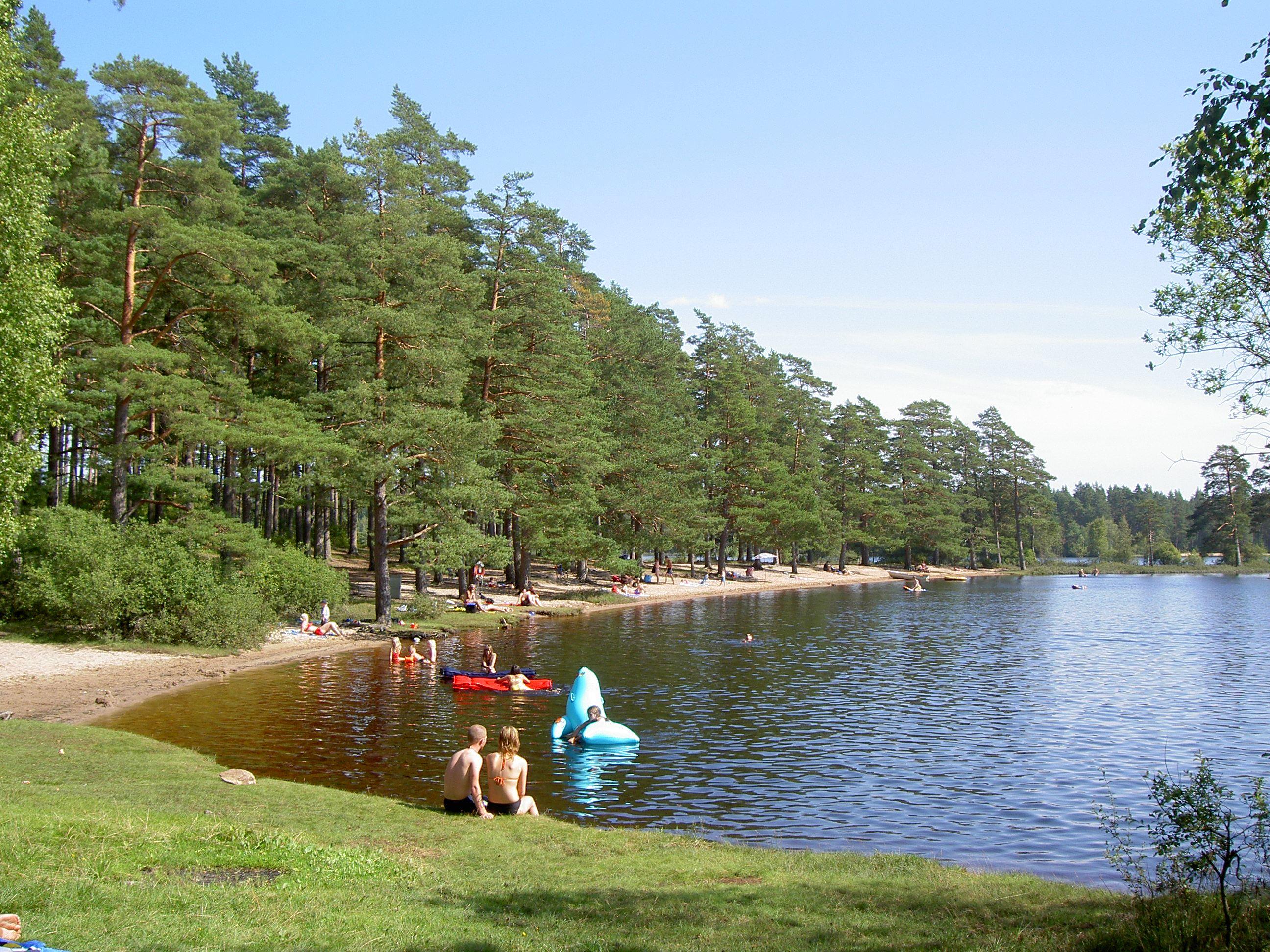 Vaggeryds kommun, Bada i Rolstorpasjön - Stranden