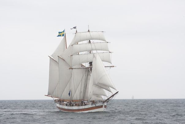 Sailing on Schooner Vega in Tjust Archipelago