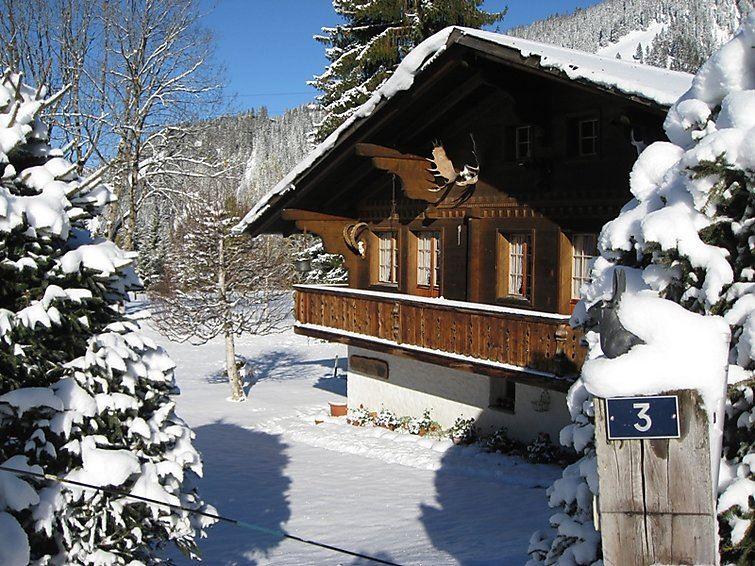 Lägenhet för upp till 4 personer med 3 rum på Chalet Nyati - Gstaad