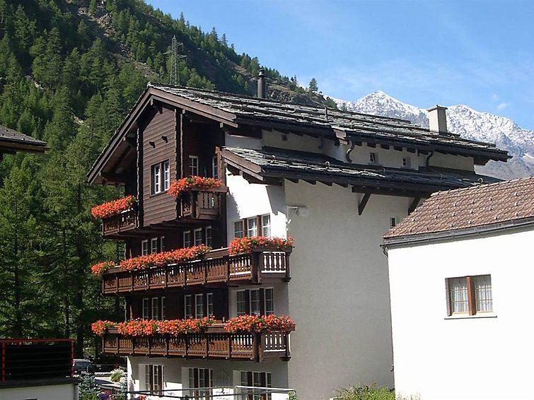 Dorfplatz - Saas-Almagell