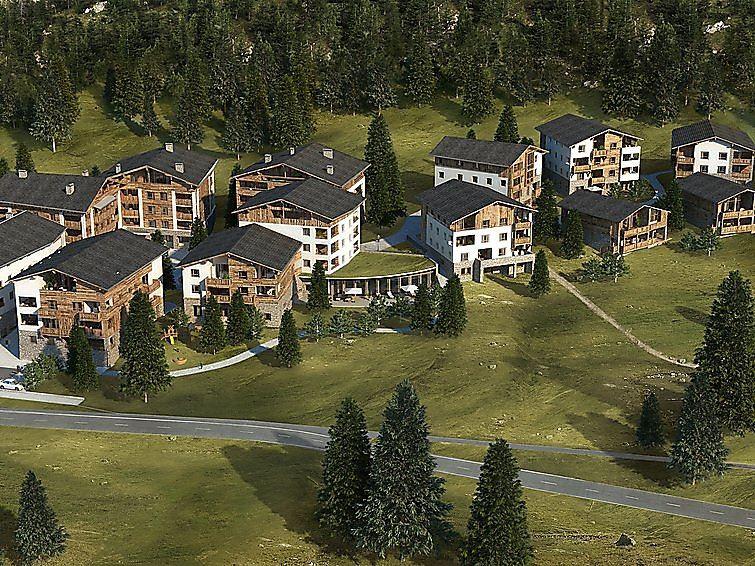 Lägenhet för upp till 2 personer med 2 rum på PRIVÀ Alpine Lodge - Lenzerheide
