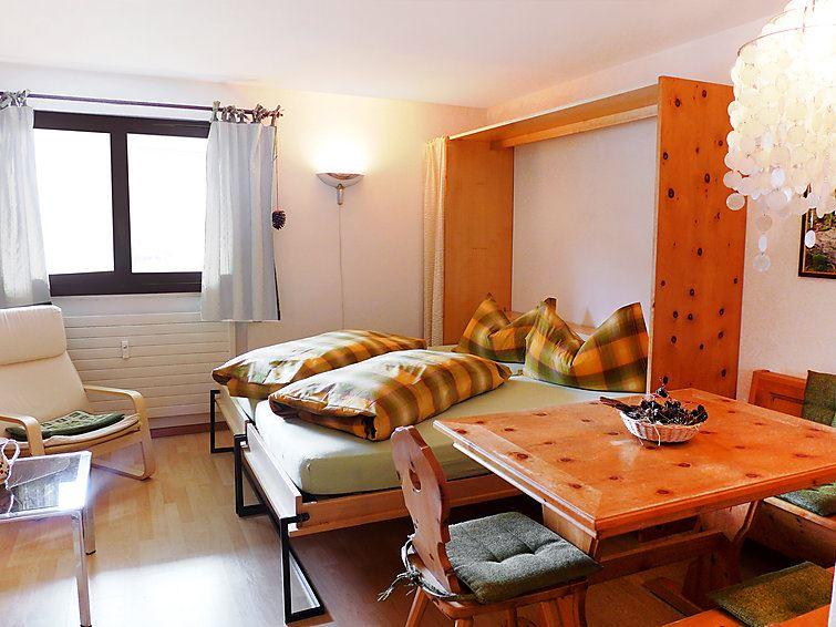 Lägenhet för upp till 2 personer med 1 rum på Chesa Tschierv II - Celerina