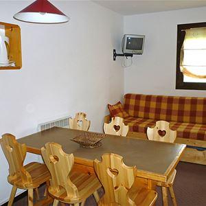 Leilighet for opp til 6 personer med 2 rom på Le Villaret - Les Menuires