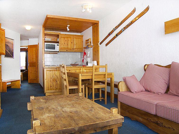 Leilighet for opp til 8 personer med 3 rom på Le Roc de Peclet - Val Thorens