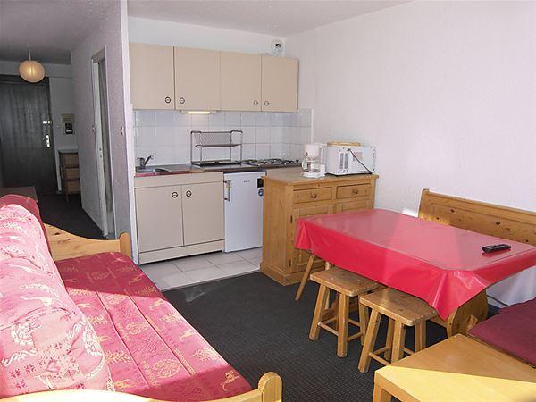 Lägenhet för upp till 4 personer med 1 rum på Les Trois Vallées - Val Thorens