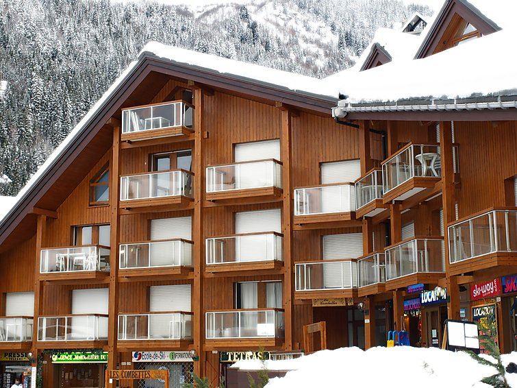 Lägenhet för upp till 4 personer med 1 rum på Les Combettes D et E - Les Contamines