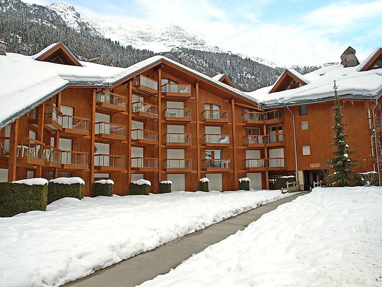 Lägenhet för upp till 4 personer med 1 rum på L'Enclave I et J - Les Contamines