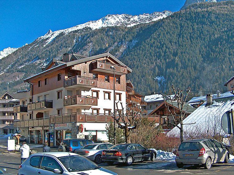 Lägenhet för upp till 2 peroner med 1 rum på L'Espace Montagne - Chamonix