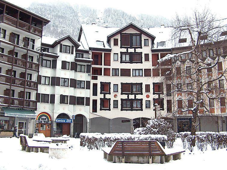 Lägenhet med 3 rum på Gentiane Chamonix