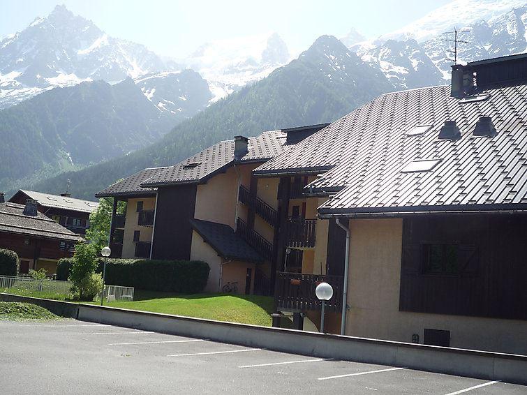 Lägenhet med 1 rum på Mont-Blanc Plein Sud B Haute Savoie