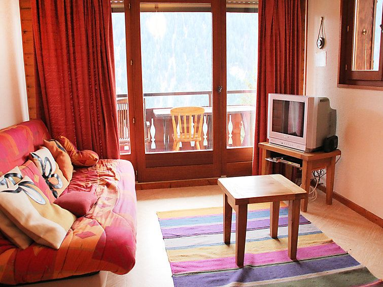 Lägenhet med 2 rum på Les Chalets de Barbessines B-C Châtel