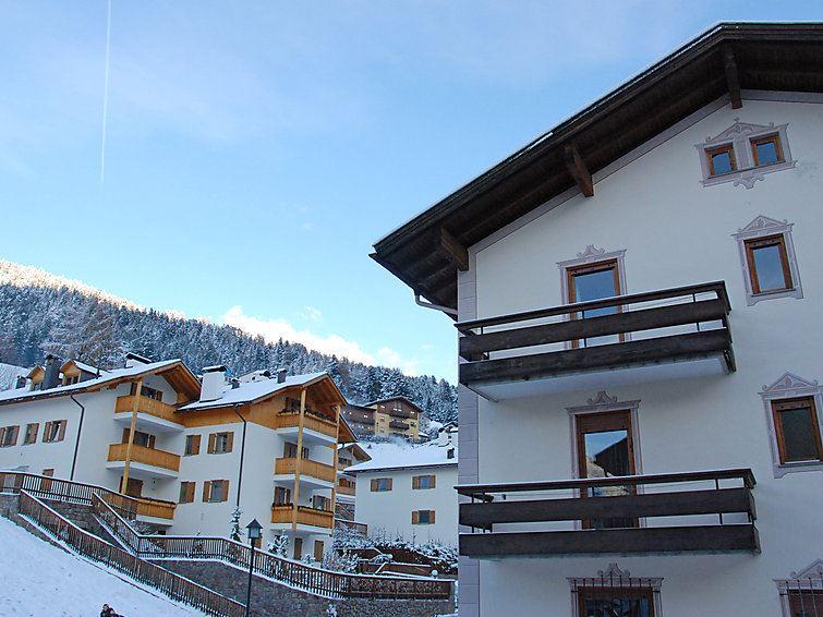 Lägenhet för upp till 2 peroner med 1 rum på La Planta - Val Gardena