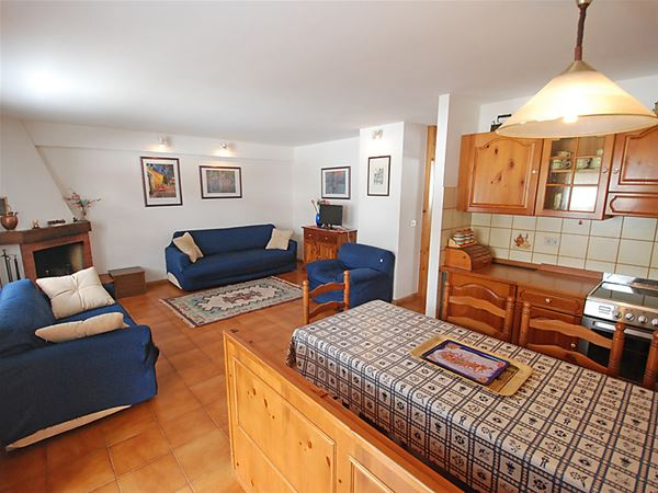 Lägenhet för upp till 6 personer med 3 rum på Marmolada - Campitello