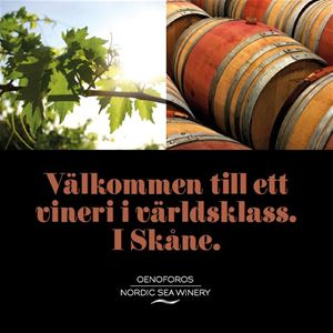 Nordic Sea Winery, Simrishamn