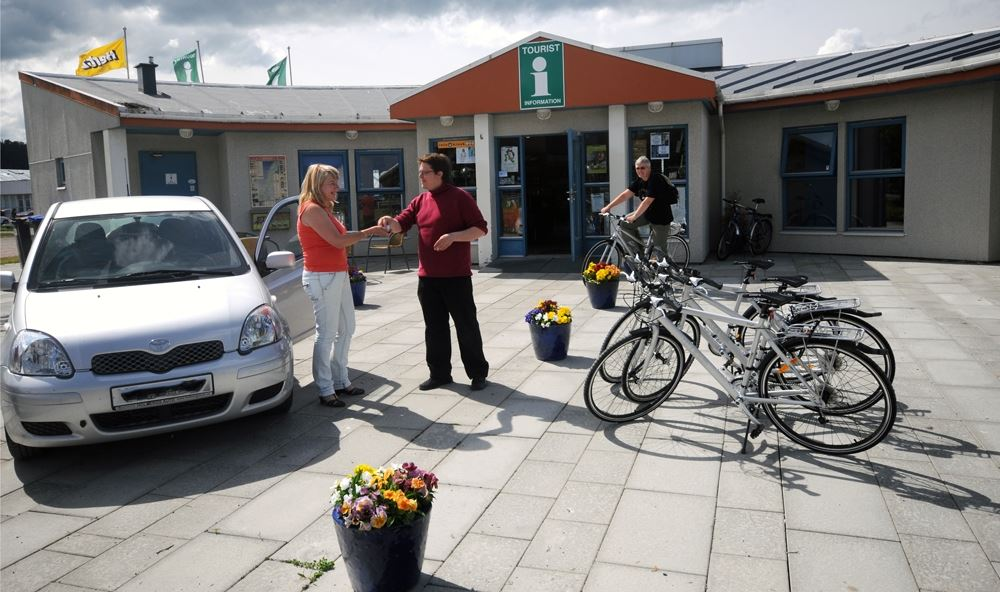 Bicycle rental from Steinkjer