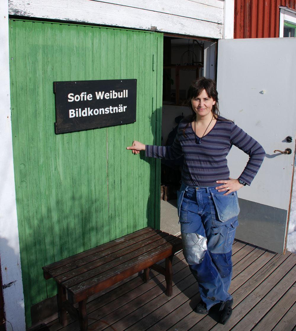 Sofie Weibull - ateljé