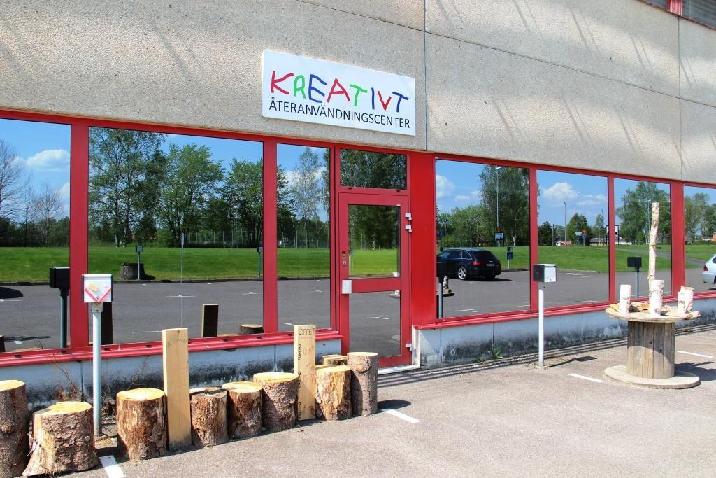 Kreativt Återanvändningscenter - Creative Reuse Center