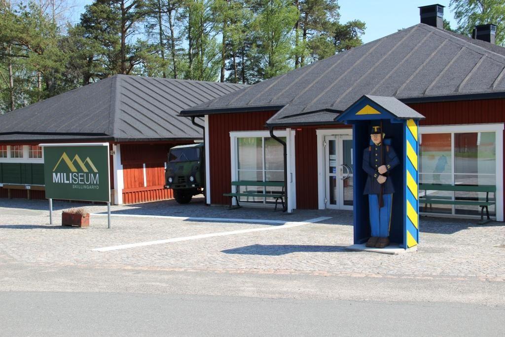Vaggeryds kommun / Charlotta, Miliseum utsidan