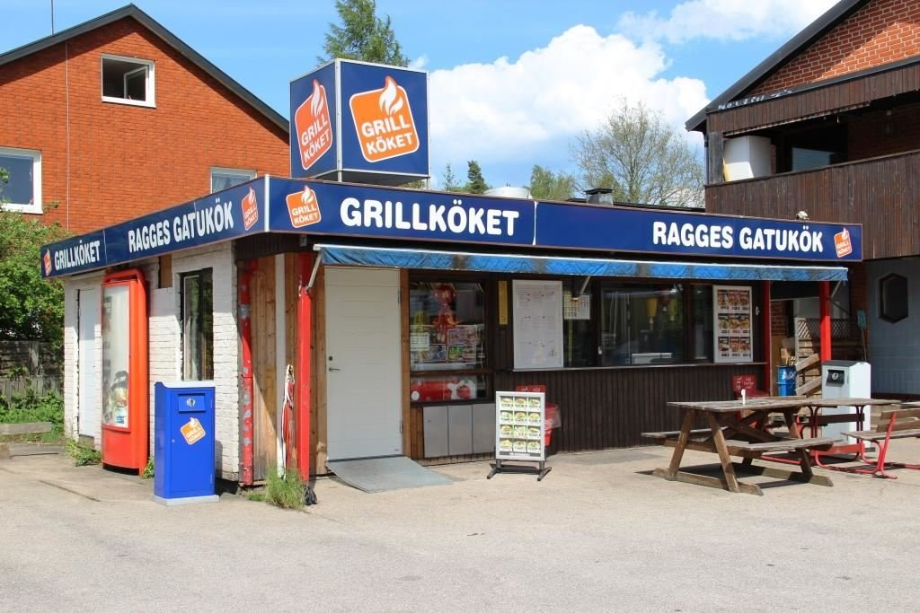 Vaggeryds kommun / Charlotta, Ragges snack bar in Skillingaryd